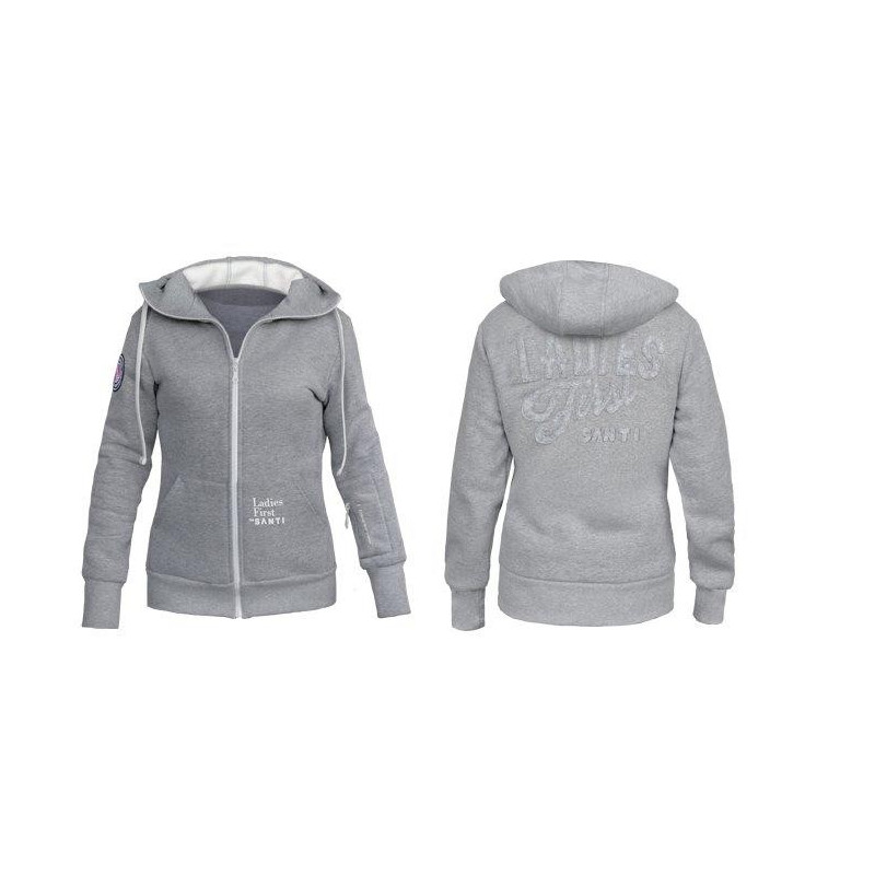 Ladies First Hoodie- Santi