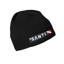 Beanie Hat Black - Santi