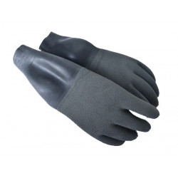 Santi Grey Dry Gloves with wrist seals