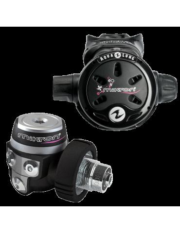 Aqualung Mikron Black/Pink DIN