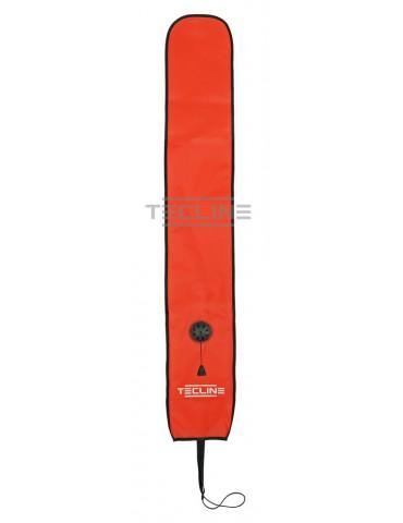 Tecline Semi closed buoy 22/135 cm - orange