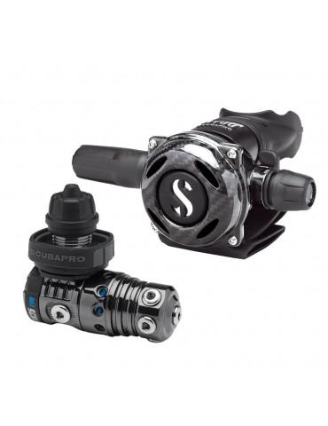Scubapro MK25 EVO+A700 Carbon Black Tech